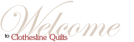 Welcome to Clotheline Quilts by Evonne